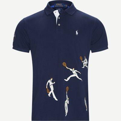 Wimbledon Ret Polo T-shirt Regular   Wimbledon Ret Polo T-shirt   Blå