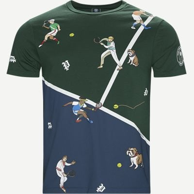 M Wimbledon Ret T-shirt Regular | M Wimbledon Ret T-shirt | Grøn
