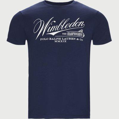 Wimbledon Ret T-shirt Regular | Wimbledon Ret T-shirt | Blå