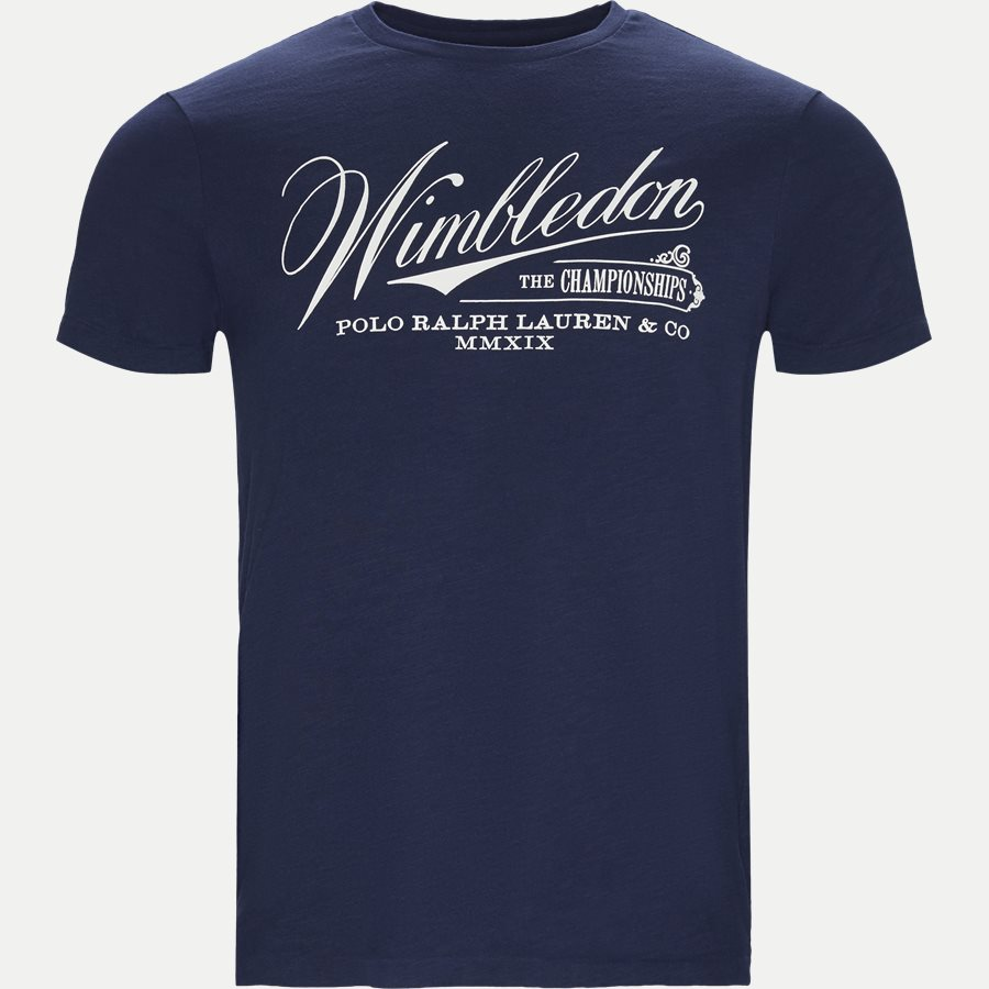 710748943 - Wimbledon Ret T-shirt - T-shirts - Regular - NAVY - 1