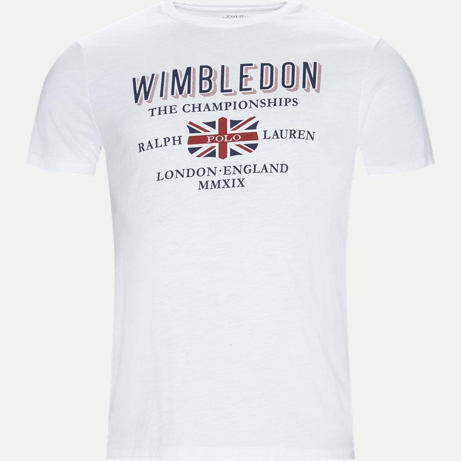 710748944 - Wimbledon Ret T-shirt - T-shirts - Regular - HVID - 1