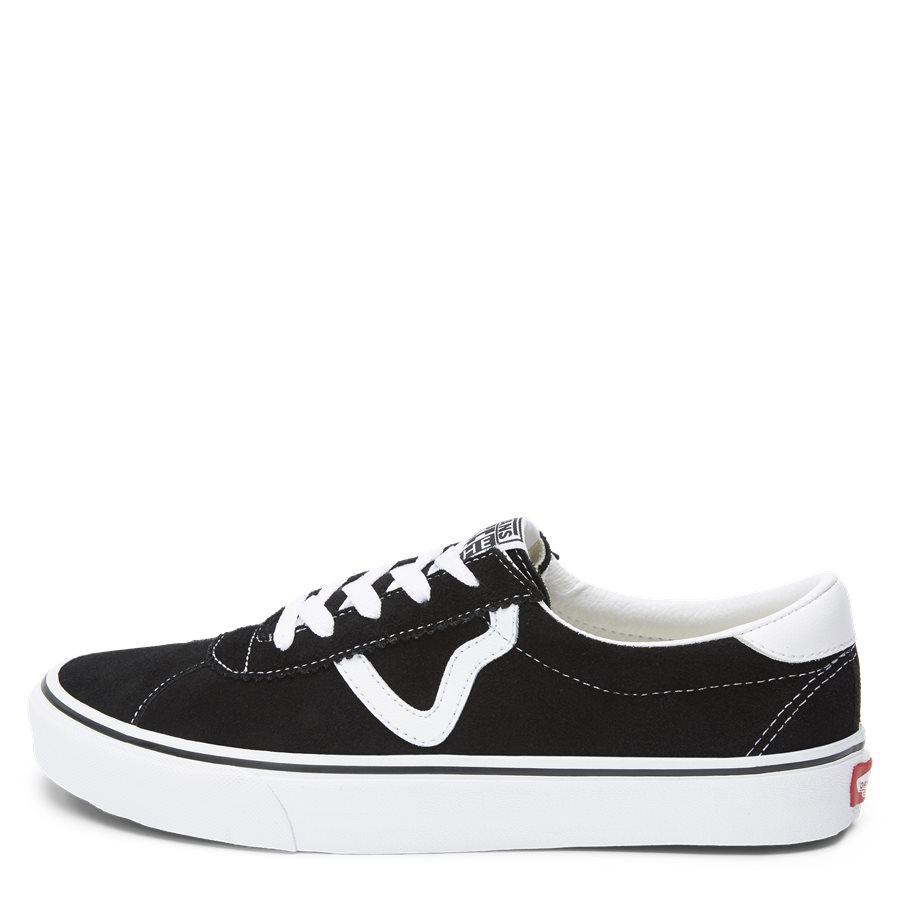 SPORT SUEDE VBU6A601 - Sport Suede Sneaker - Sko - SORT - 1