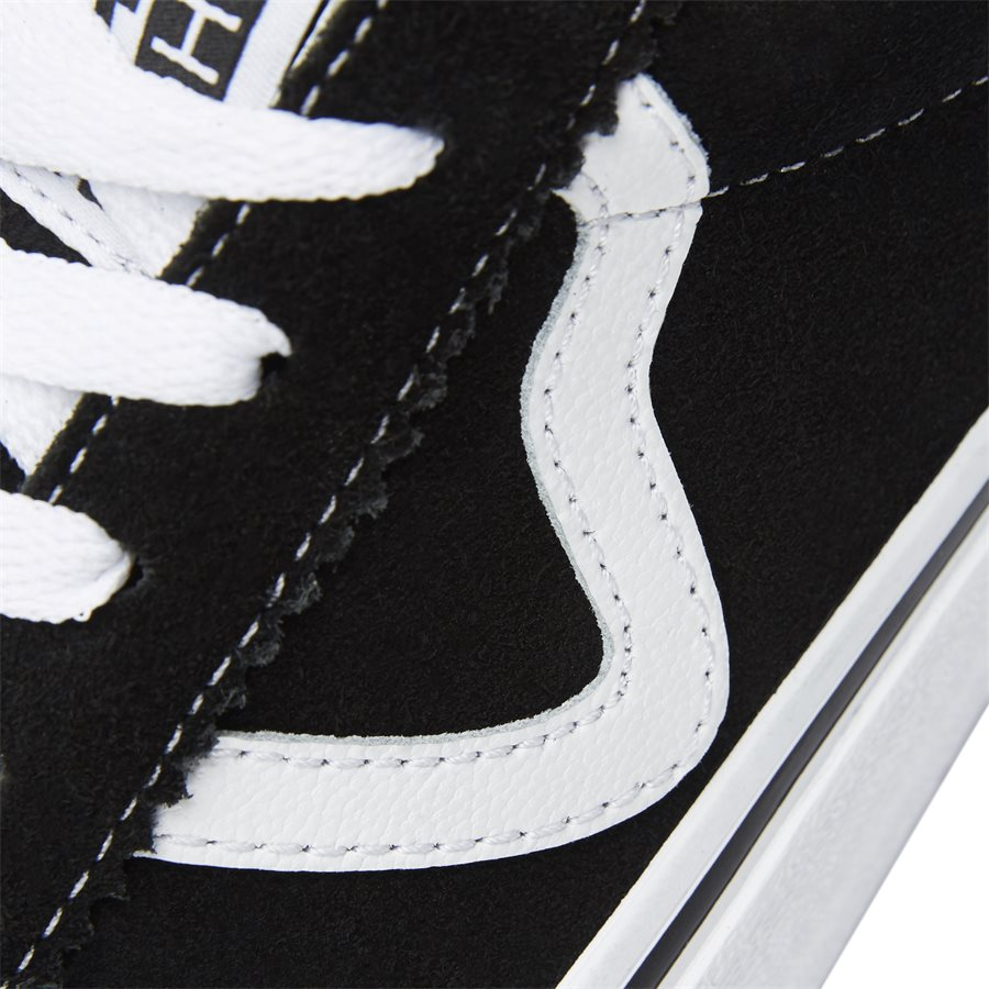 SPORT SUEDE VBU6A601 - Sport Suede Sneaker - Sko - SORT - 4