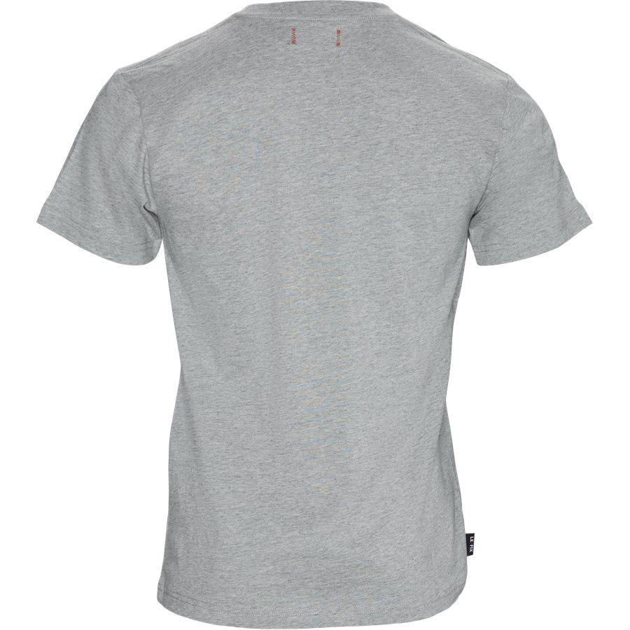 LF PATCH TEE 1700028 - LF Patch Tee - T-shirts - Regular - GRÅ - 2