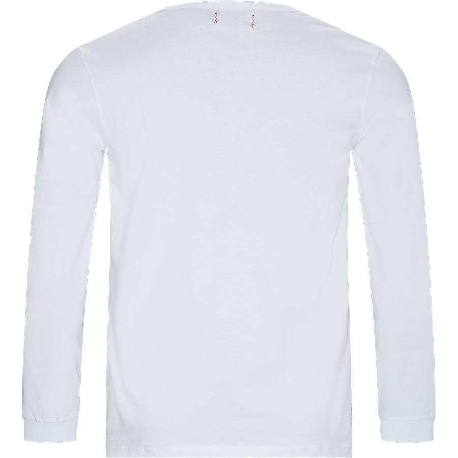 LF PATCH LS 1700029 - LF Patch LS - T-shirts - Regular - HVID - 2