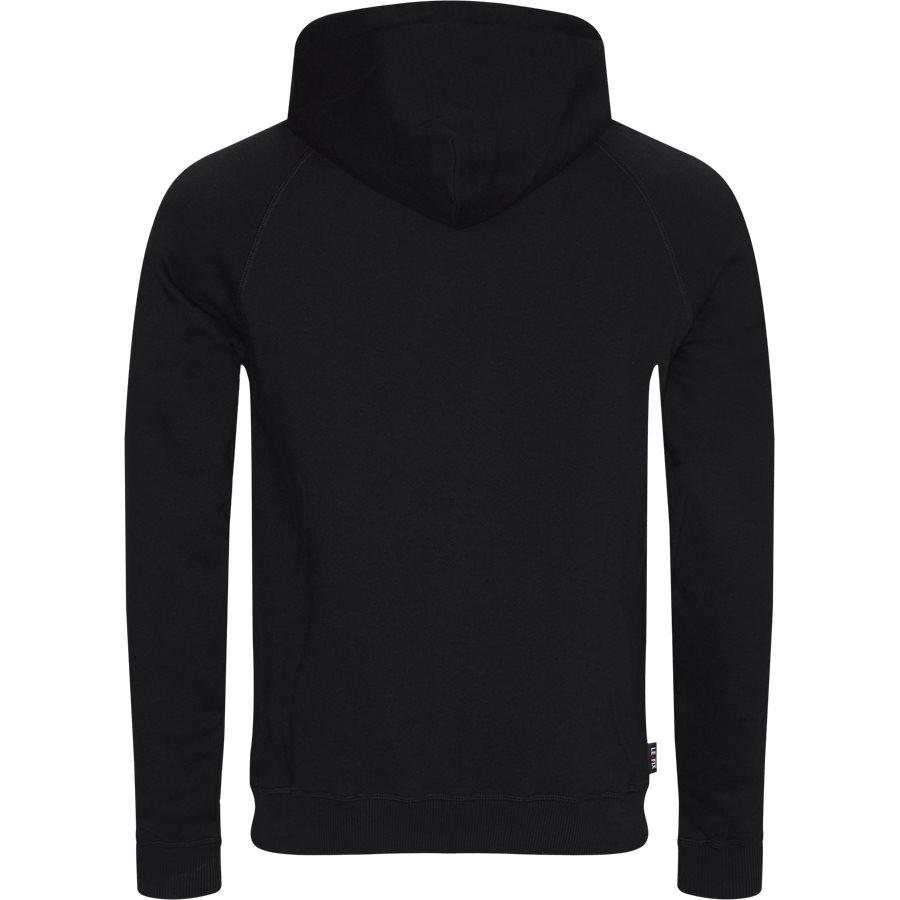 LF PATCH HOOD 1700032 - LF Patch Hoodie - Sweatshirts - Regular - SORT - 2