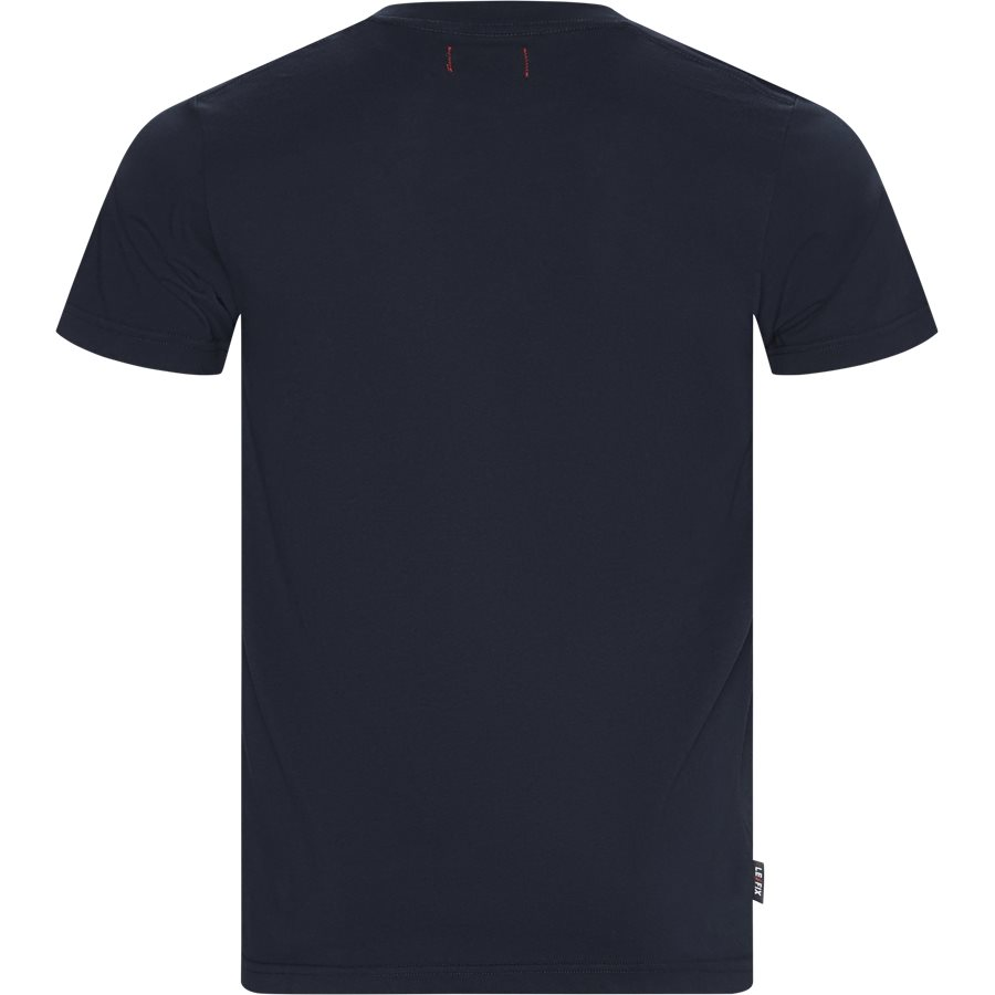 JUMPING LETTERS TEE 1902001 - Jumping Lettters Tee - T-shirts - Regular - NAVY - 2