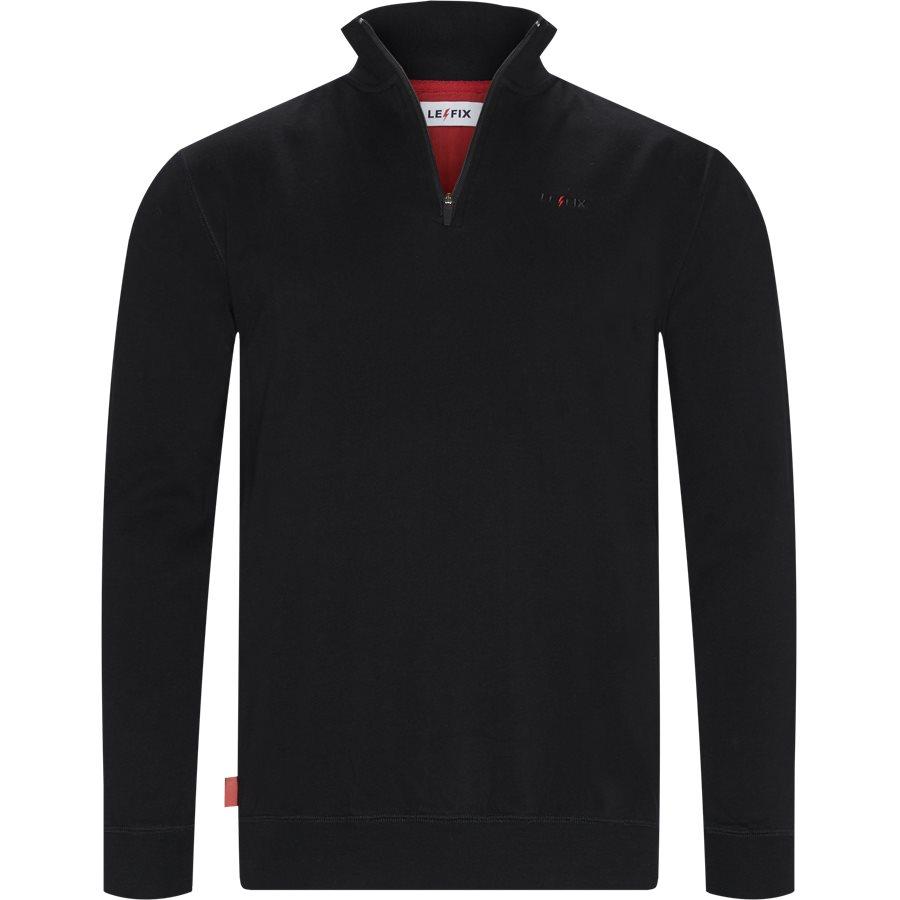 Q ZIP 1902019 - Q Zip Sweatshirt - Sweatshirts - Regular - SORT - 1