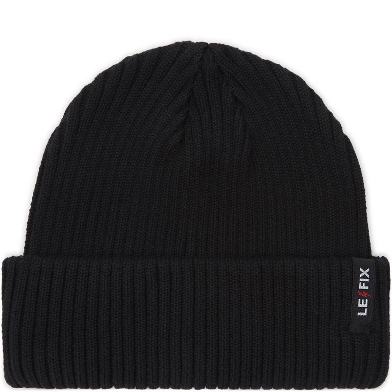 le fix – Le fix cotton sailor beanie sort på quint.dk