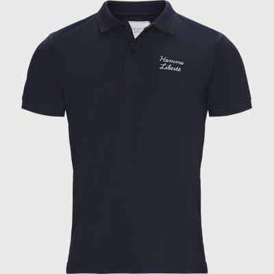 1667 Polo SS T-shirt Regular   1667 Polo SS T-shirt   Blå