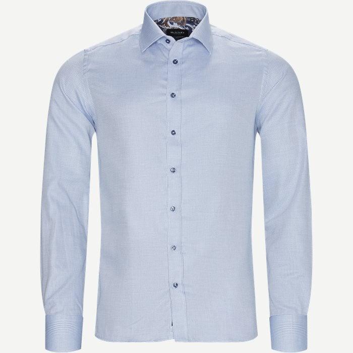 8241 Iver Trim/State Skjorte - Skjorter - Blå