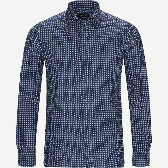 8290 Iver/State  Skjorte - Skjorter - Blå