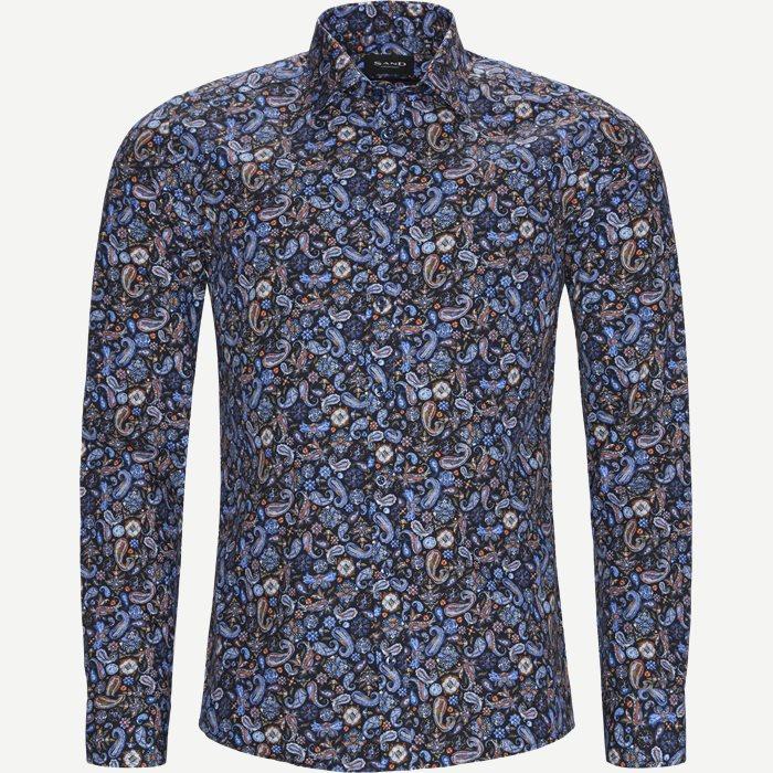 8293 Iver/State Skjorte - Skjorter - Blå