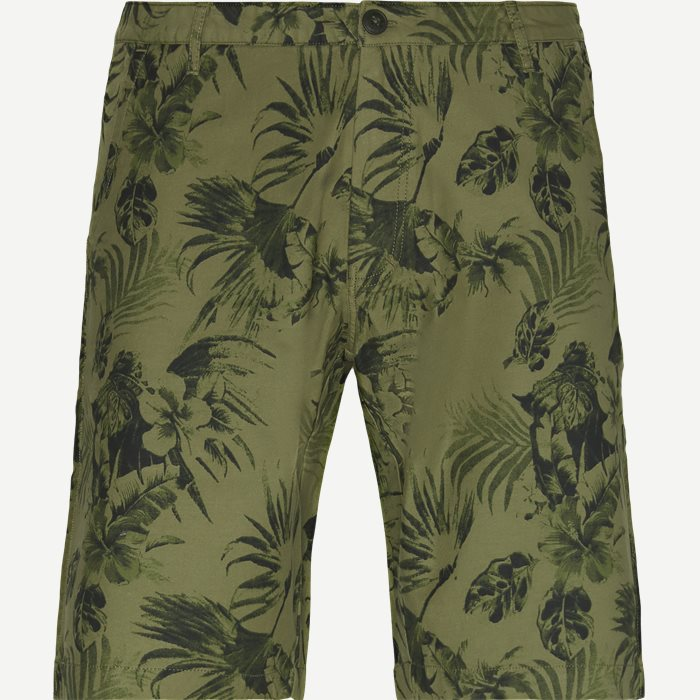 Spencer Print Shorts - Shorts - Regular - Army
