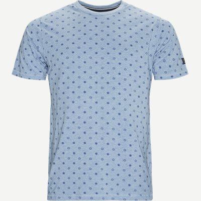 Jens CP Crew Neck T-shirt Regular   Jens CP Crew Neck T-shirt   Blå