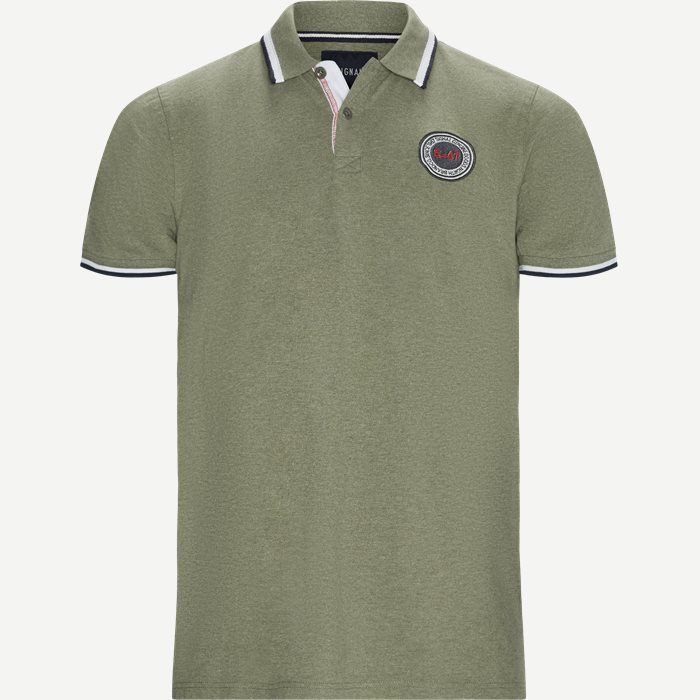 Gilbert CP Polo T-shirt - T-shirts - Regular - Army