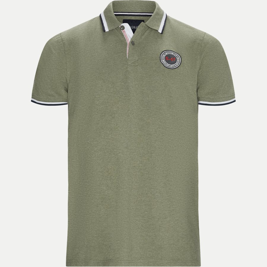 13248 67 - Gilbert CP Polo T-shirt - T-shirts - Regular - ARMY - 1
