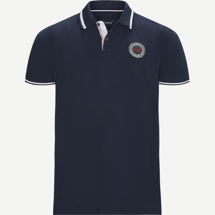 Gilbert CP Polo T-shirt - T-shirts - Regular - Blå