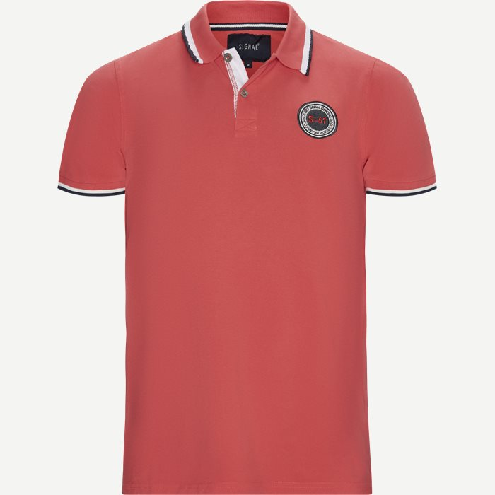 Gilbert CP Polo T-shirt - T-shirts - Regular - Rød