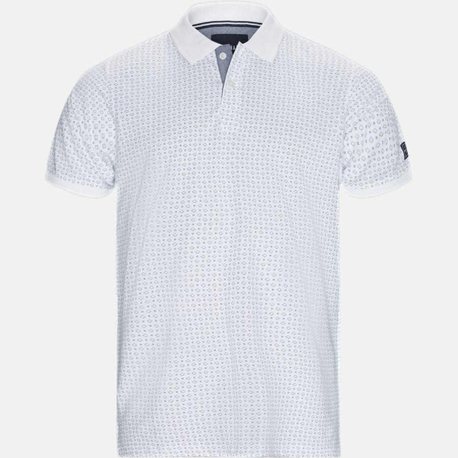 13321 1339 - Irwing Print Polo T-shirt - T-shirts - Regular - HVID - 1