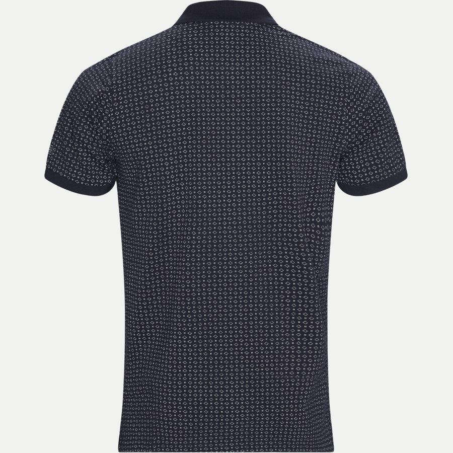 13321 1339 - Irwing Print Polo T-shirt - T-shirts - Regular - NAVY - 2