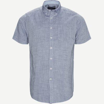 Kevin2 CP Kortærmet Skjorte Regular | Kevin2 CP Kortærmet Skjorte | Blå