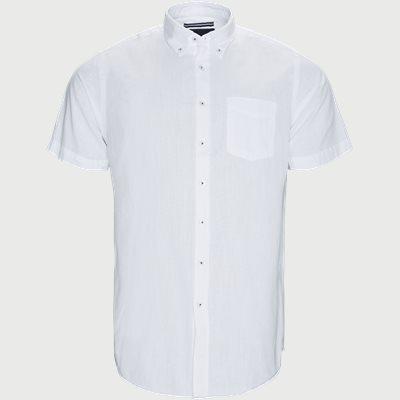 Kevin2 CP Kortærmet Skjorte Regular | Kevin2 CP Kortærmet Skjorte | Hvid