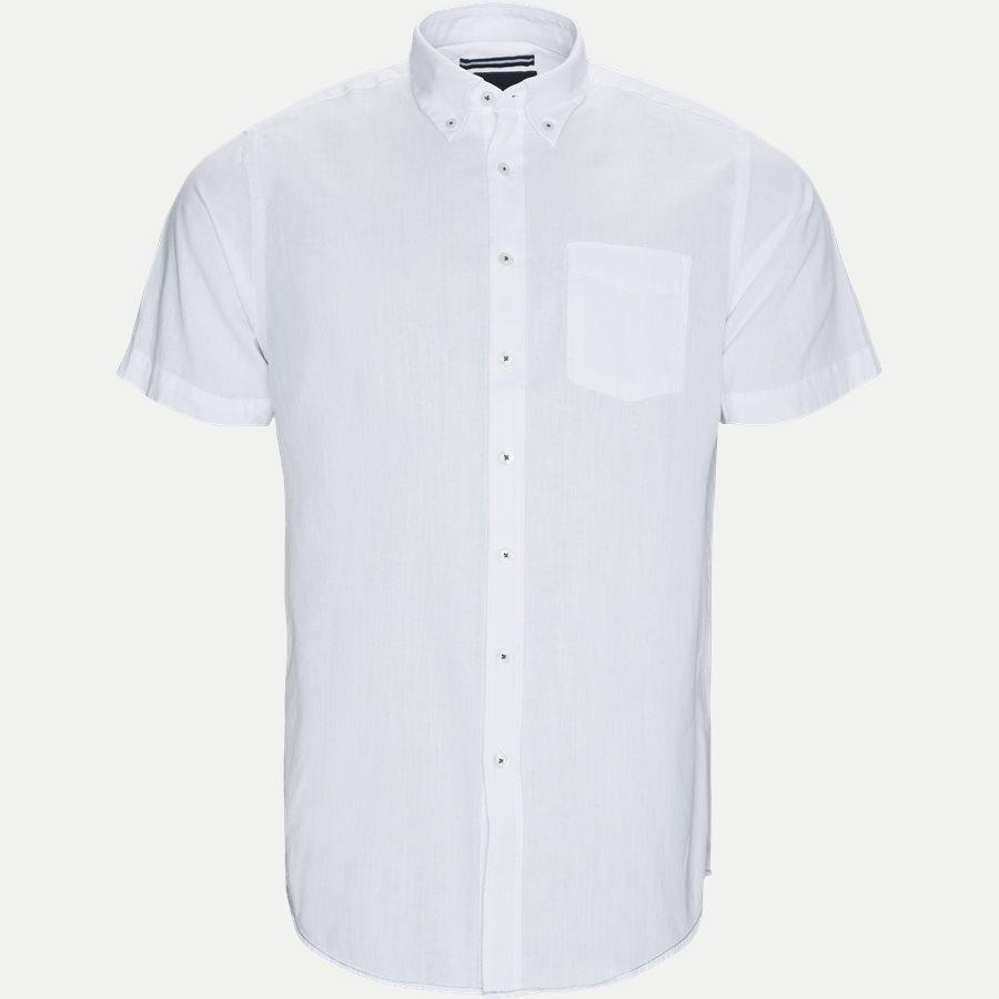 15244 987 - Kevin2 CP Kortærmet Skjorte - Skjorter - Regular - HVID - 1