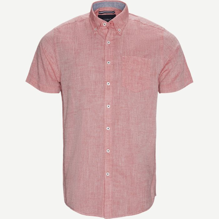 Shirt-sleeved shirts - Regular - Red
