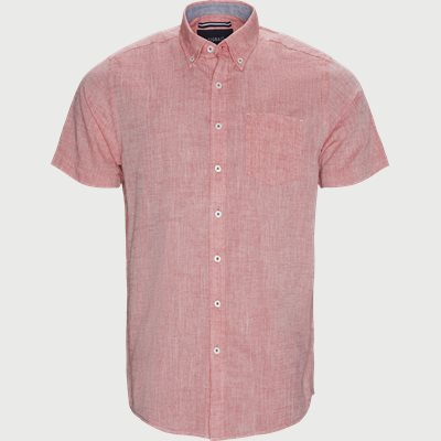Kevin2 CP Kortærmet Skjorte Regular | Kevin2 CP Kortærmet Skjorte | Rød