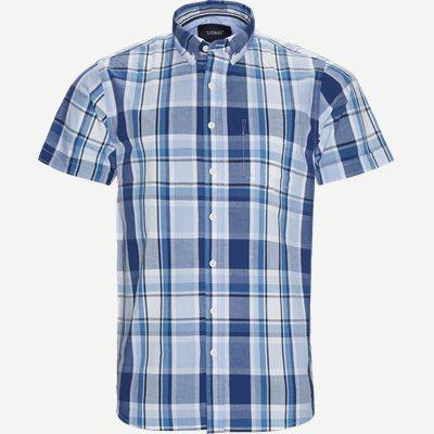 Rock Check CP Kortærmet Skjorte Regular | Rock Check CP Kortærmet Skjorte | Blå