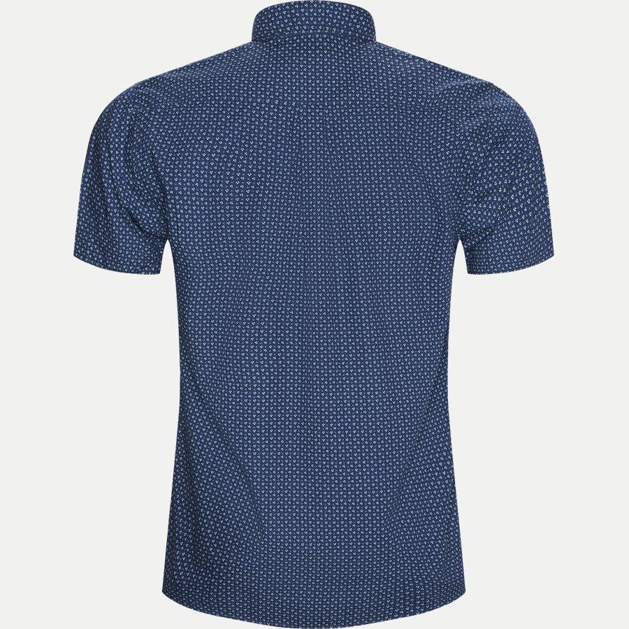 15303 1327 - Mack Print CP Kortærmet Skjorte - Skjorter - Regular - BLÅ - 2