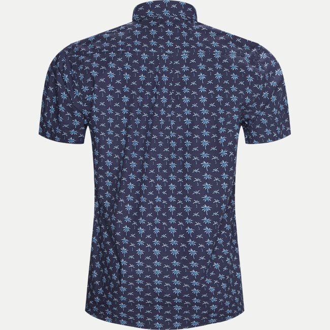 Mack Print CP Kortærmet Skjorte