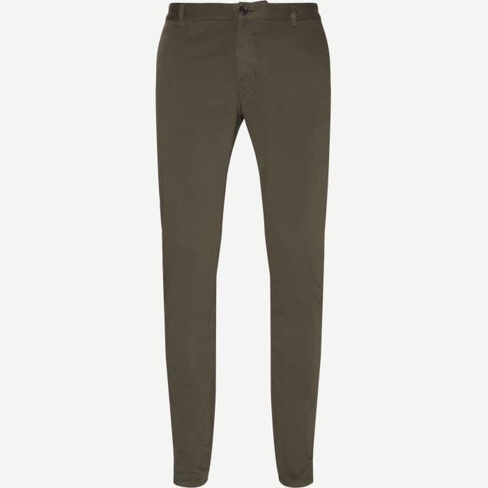 Trousers - Ekstra slim fit - Army