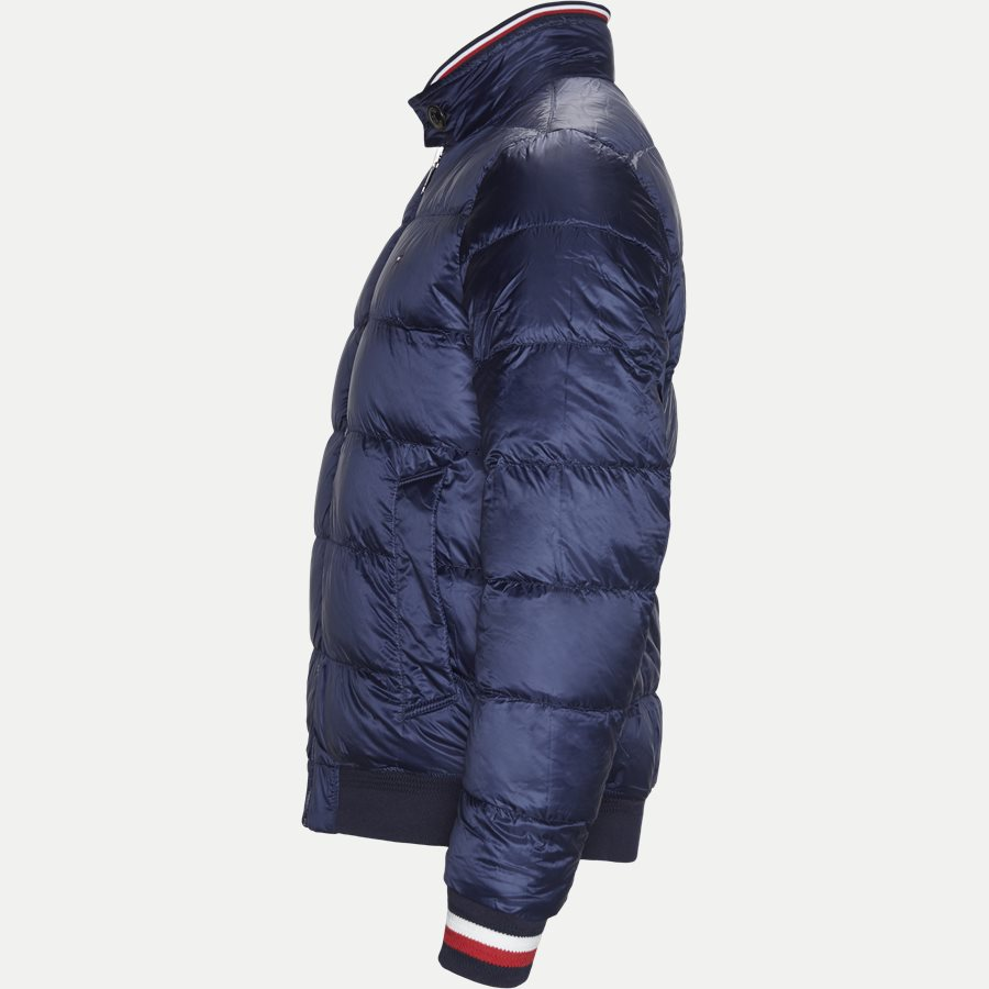 REVERSIBLE DOWN HARRINGTON - Reversible Down Harrington Jakke - Jakker - Regular - NAVY - 7