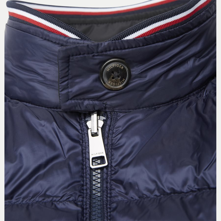 REVERSIBLE DOWN HARRINGTON - Reversible Down Harrington Jakke - Jakker - Regular - NAVY - 9