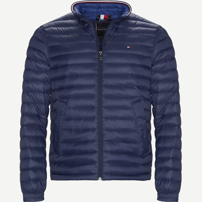 Packable Down Jacket - Jakker - Regular - Blå