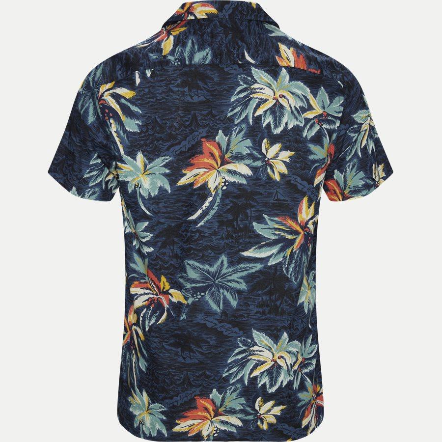 HAWAIIAN PRINT SHIRT S/S - Hawaiian Print Shirt - Skjorter - Regular - NAVY - 2