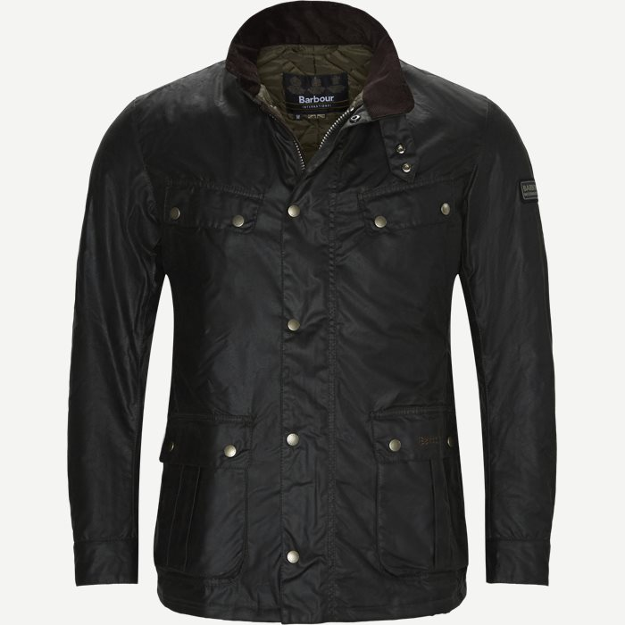 Duke Wax Jacket - Jakker - Regular - Grøn