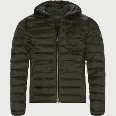 Ouston Hooded Quilt Jacket Regular | Ouston Hooded Quilt Jacket | Army