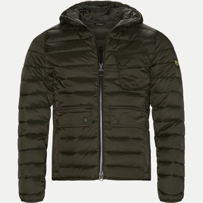 Ouston Hooded Quilt Jacket