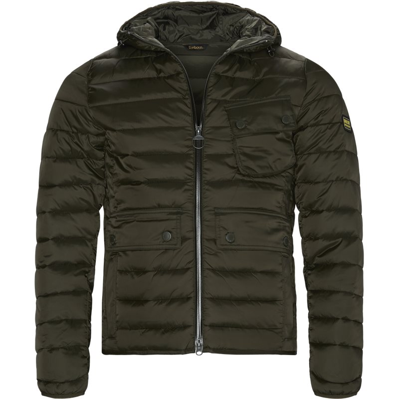 Image of   Barbour - Ouston Hooded Quilt Jacket