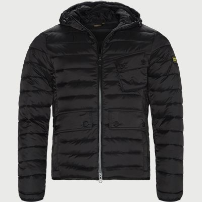 Ouston Hooded Quilt Jacket Regular | Ouston Hooded Quilt Jacket | Sort