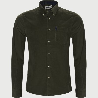 Cord1 Tail Shirt Tailored fit | Cord1 Tail Shirt | Army