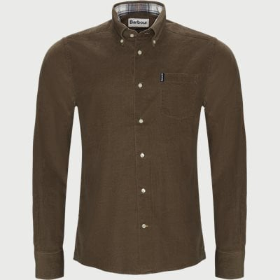 Cord1 Tail Shirt Tailored fit   Cord1 Tail Shirt   Brun