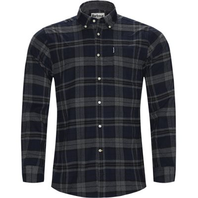 Highland Check Shirt Tailored fit | Highland Check Shirt | Grå