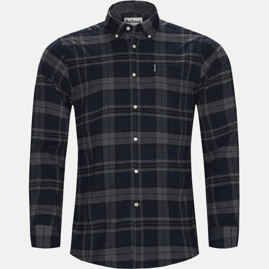 HIGHLAND CHECK19 - Highland Check Shirt - Skjorter - Tailored fit - GRÅ - 1