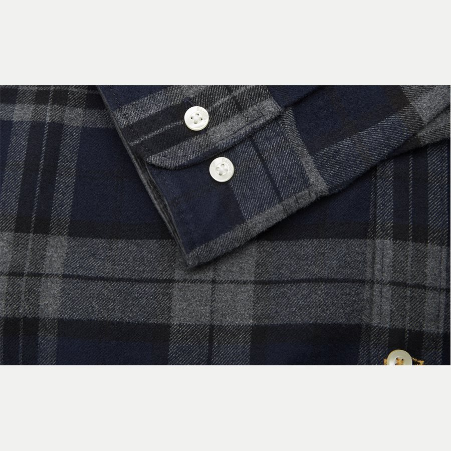 HIGHLAND CHECK19 - Highland Check Shirt - Skjorter - Tailored fit - GRÅ - 6