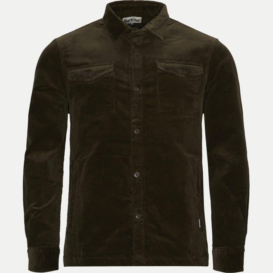CORD OVERSHIRT - Cord Overshirt - Skjorter - Regular - OLIVEN - 1