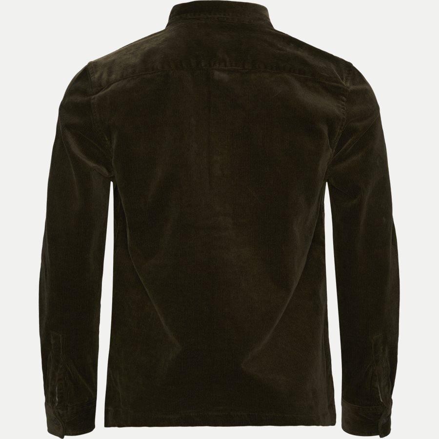 CORD OVERSHIRT - Cord Overshirt - Skjorter - Regular - OLIVEN - 2